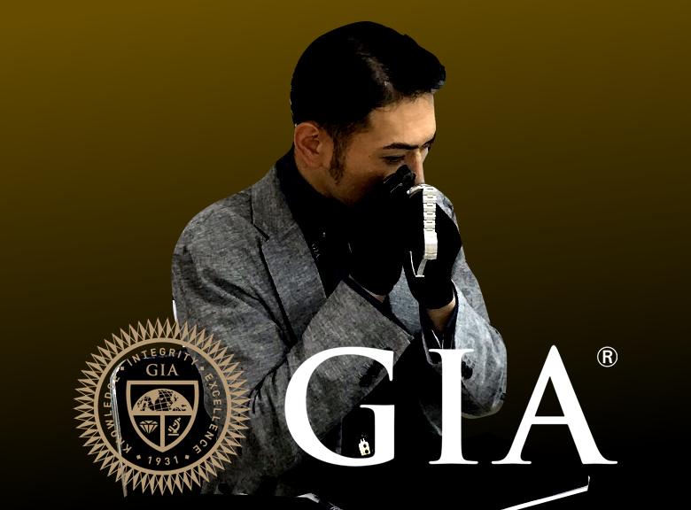 GIA(米国宝石学会公認鑑定士)